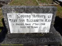 Kay - Mary Ann Elizabeth