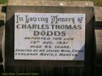 Dodds - Charles Thomas
