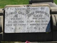 Gray - Thomas and Anna Dorothea