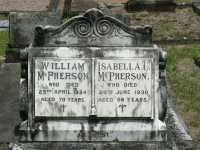 McPherson - William and Isabella C