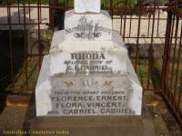 Gabriel - Rhoda, Florence, Ernest, Flora, Vincent and Gabriel
