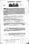 Bowen - William - Conditional pardon