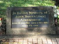 Ainsworth - John Bowen