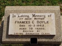 Doyle - Frances C