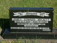 Huckett - James Edward