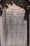 Chowne - Elizabeth Jane - Memorial