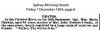 Chowne - Maria - Death Notice