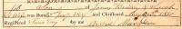 Bradley - Job - Birth and Christening Certificate