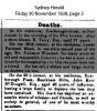McDougall - John Kerr - Death Notice