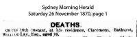 Lee - William - Death Notice