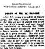 Malone - Wm - Obituary