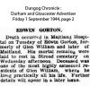 Gorton - Edwin - Death Notice