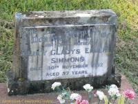 Simmons - Lucy Gladys Ellen