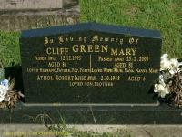 Green - Cliff, Mary and Athol Robert