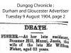 Fisher - Jessie - Death Notice