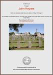 Haynes - John - Commemorative Certificate