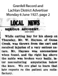Haynes - W - Serious accident