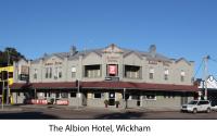 Albion Hotel, Wickham, NSW.
