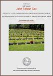 Cox - John Fabian - Commemorative Certificate
