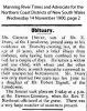 Drury - George - Obituary