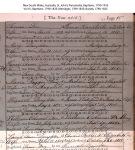 Fuller - Sarah Ann - Baptism Certificate