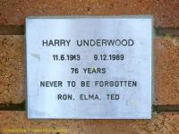 Underwood - Harry