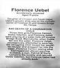 Uebel - Florence - Memorial plaque.