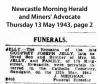 Jelly - Godfrey Joseph - Funeral Notice