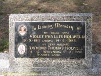 Holwell - Violet Phyllis and Raymond Thomas