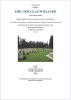 Williams - Eric Douglas - Commemorative Certificate