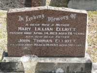 Elliott - Mary Lillian and John Thomas