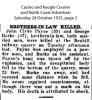 Payne - John Clyde - Death Notice