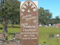 Chapman - Cecil Ambrose