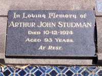 Studman - Arthur John