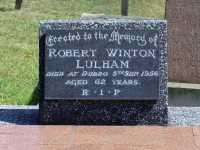 Lulham - Robert Winton