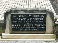Young - Horace A E and Hazel Irene