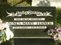 Turner - Agnes Mary