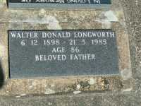 Longworth - Walter Donald