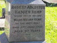 Kemp - Robert Augustus Hadden