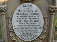 Hayward - Rebecca Sarah and Charles