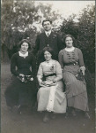 Sloan - L to R - Janet, Edward, Unknown, Esther