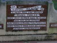 Fowler - Mabel and Archibald Hamilton