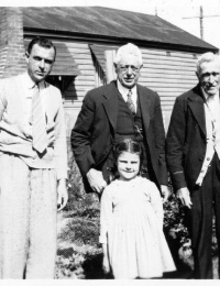 Gregory - four generations