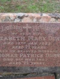 Dunn - Thomas and Elizabeth - Grave