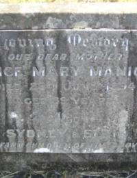 Manion-Elsie Grave