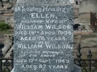 WILSON-William and Ellen WILSON (JONES)