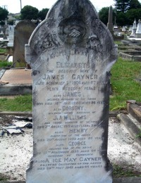 GAYNER James & Elizabeth, Henry, George, Alice May, & WILLIAMS Dorothy