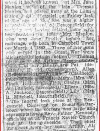 Jane Manion's Obituary 1 of 2