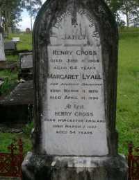 Cross - Henry and Janet - Margaret