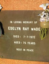 Wade - Edelyn Ray